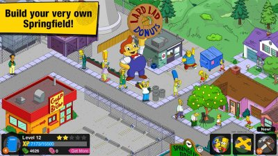 The Simpsons™: Tapped Out(Взломанная версия)